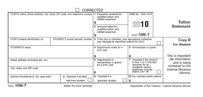1098-T-tax-form1 Tax Form Example on mortgage interest2019, statement for new construction, clip art, printable federal,