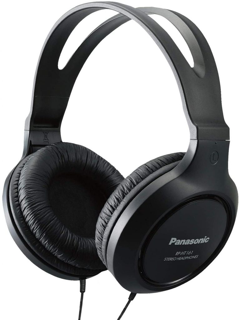 Panasonic Long-Cord Headphones RP-HT161-K
